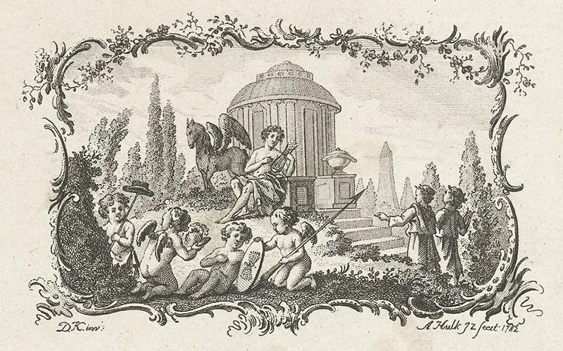 Apollo als god van de kunsten (Apollo, god of the Arts)